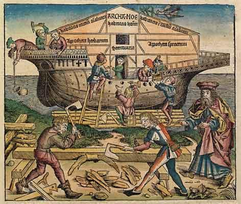 Arca di Noè, Cronache di Norimberga