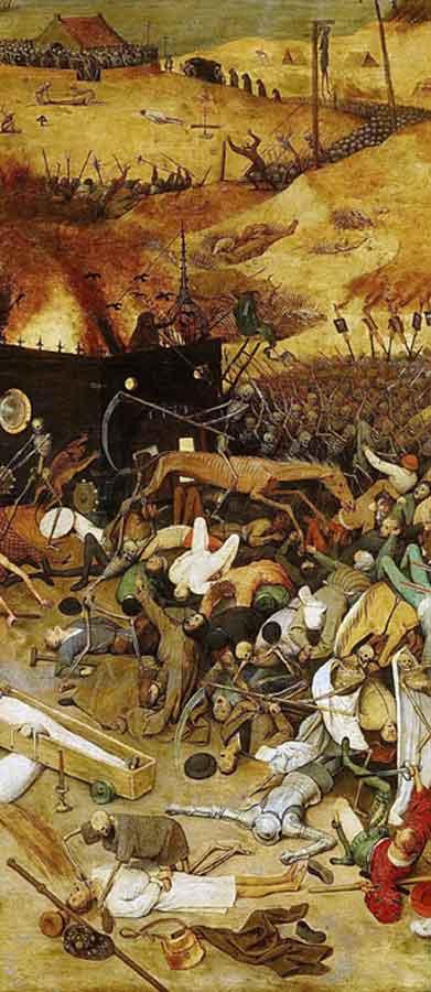 Bruegel, Trionfo della Morte, 1562
