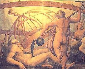 Giorgio Vasari, Mutilazione di Urano