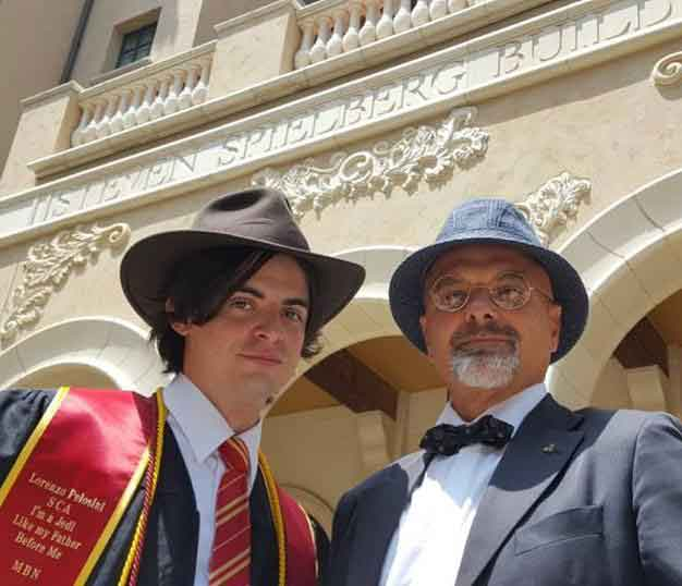 Indiana Jones & Henry Jones Pelosini at USC