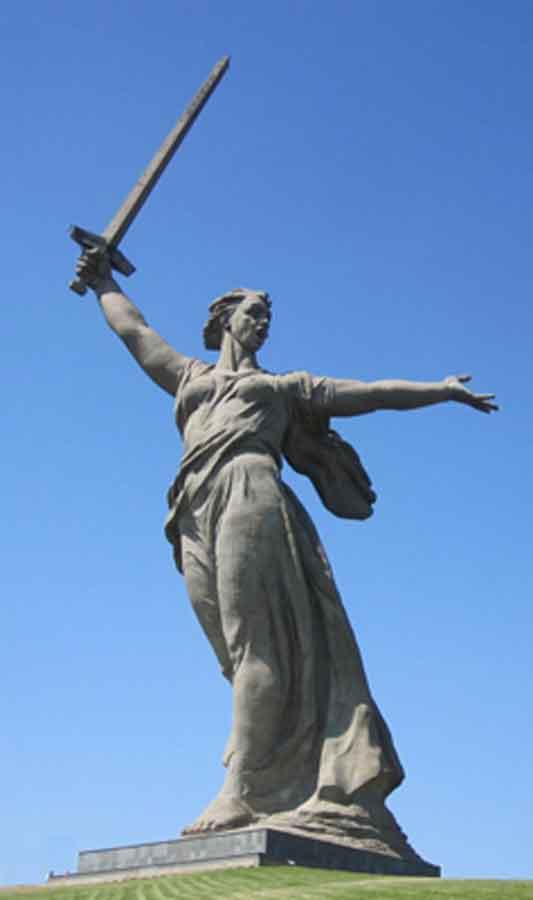 Madre Russia, Volgograd