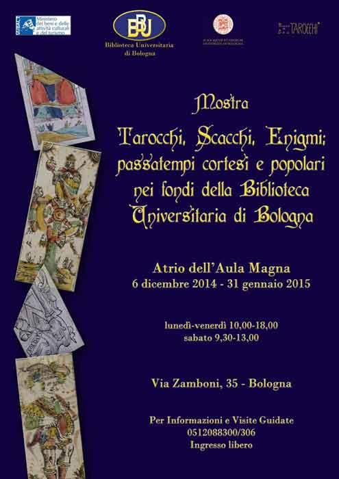 Mostra Tarocchi, BUB, Bologna