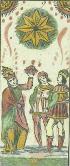 Tarocchi Fine dalla Torre, La Stella