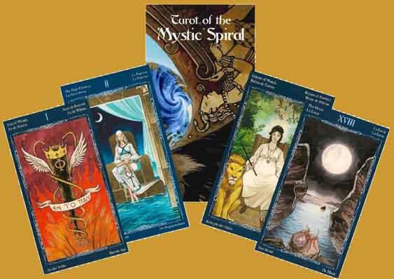 Tarot of the Mystic Spiral (Zanna Starr)